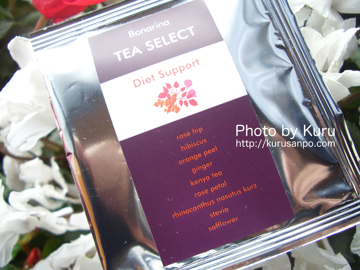 Bonarinaの『TEA SELECT「Diet Support」』を飲んでみた♪【追記有り】