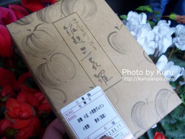 大口屋(おおぐちや)『麩饅頭「餡麩三喜羅(あんぷさんきら)」』