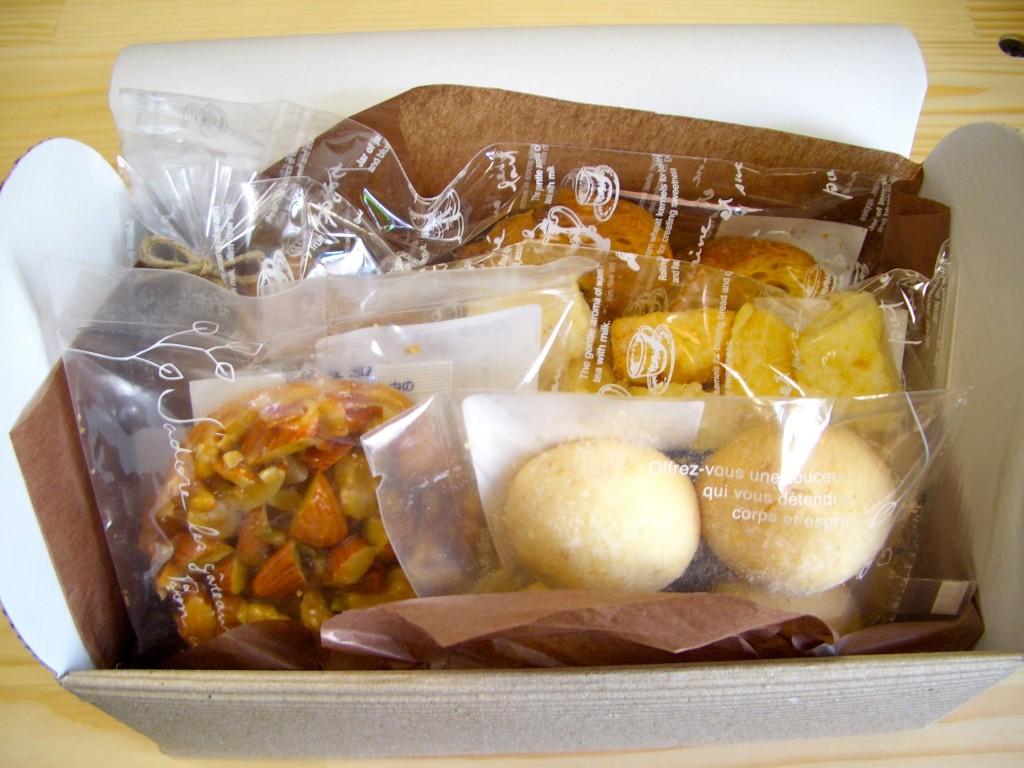 『春の大北海道展』で購入したSEETS SHOPのお菓子(5個で1,500)