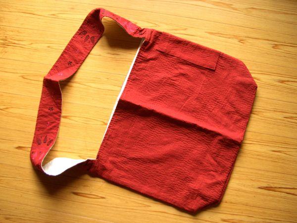 FELISSIMO(フェリシモ)『刺し子の斜めがけバッグ』
