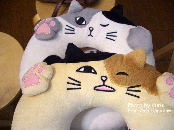 FELISSIMO(フェリシモ)『猫部 お昼寝クッションうたたねこ』