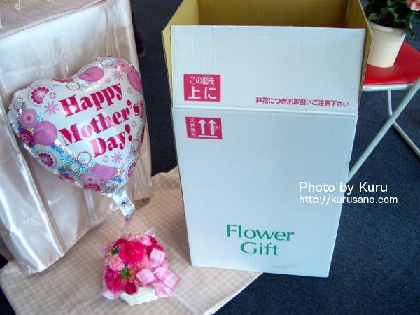 e87.com(イイハナ・ドットコム)イイハナ『母の日 アレンジメント「ぷわぷわバルーン~Thanks mom~」』