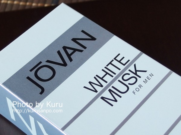 JOVAN(ジョーバン)の『WHITE MUSK for man(ホワイトムスク フォーメン)』
