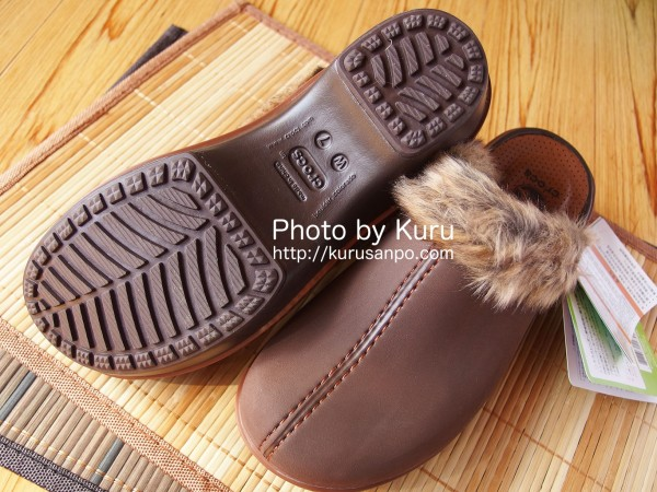 crocs(クロックス)『crocs cobbler fuzz clog w(クロックス コブラー ファズ クロッグ ウィメン)』