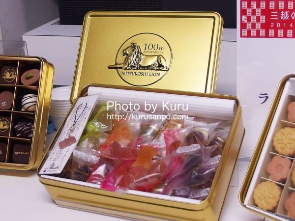 三越『三越ライオン像 & 食品フロア 生誕100周年記念祭』