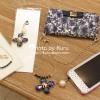 ストラップを付けるとポーチみたい『La Boutique DE LA MAISON』の手帳型iPhoneケースが可愛い!!