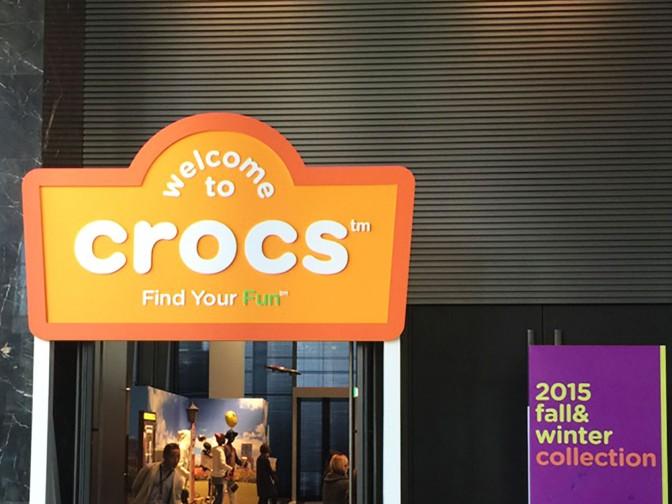 crocs(クロックス)『2015 fall & winter 新作展示会』