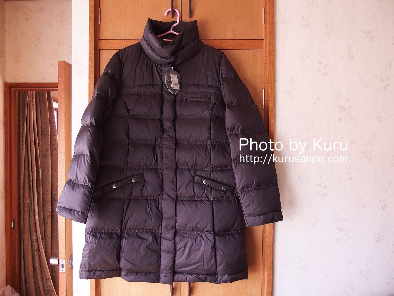 エディー・バウアー『EB900フィルパワープラスダウンコート』やっぱり軽くて温かい♪