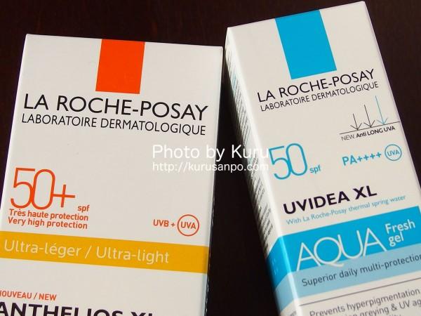 LA ROCHE-POSAY(ラ ロッシュ ポゼ)『UVイデア XL アクア フレッシュ ジェル クリーム』『アンテリオス XL フリュイド』