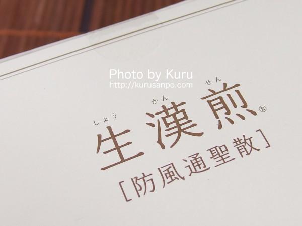 『生漢煎 防風通聖散(しょうかんせん ぼうふうつうしょうさん)』